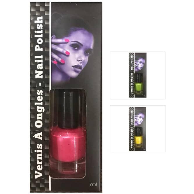 UV-Nagellack - 7 ml - verschiedene Farben