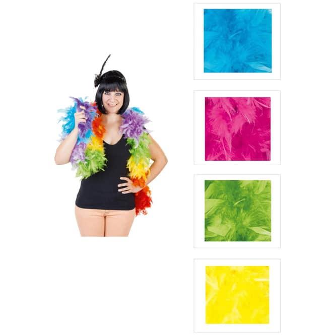 Federboa - 2 m - verschiedene Farben