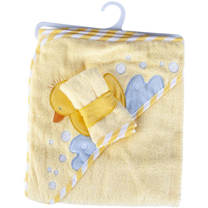 Baby-Badeset - 2-teilig - gelb