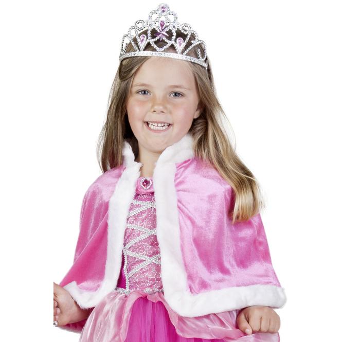 Prinzessinnen-Cape - für Kinder - rosa