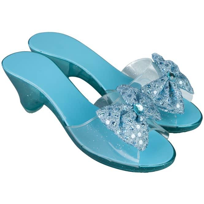 Prinzessinnenschuhe - für Kinder - blau
