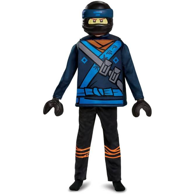 LEGO® Ninjago Kostüm - Jay - Deluxe-Serie - 4-teilig - verschiedene Größen
