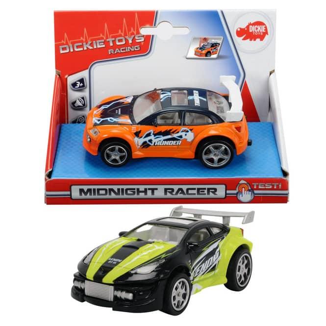 Rennauto Midnight Racer mit Rückzugmotor, Länge: 11,5cm
