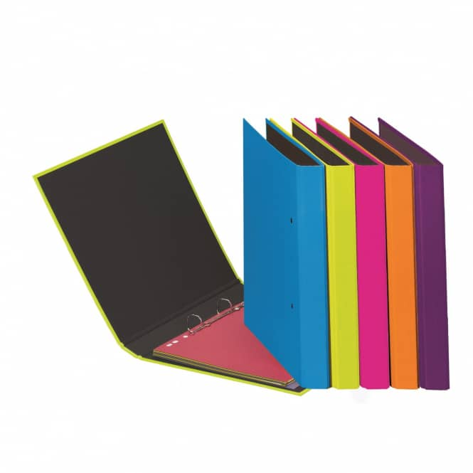 DIN A5 Ringbuch - Trend lindgrün - 35 mm