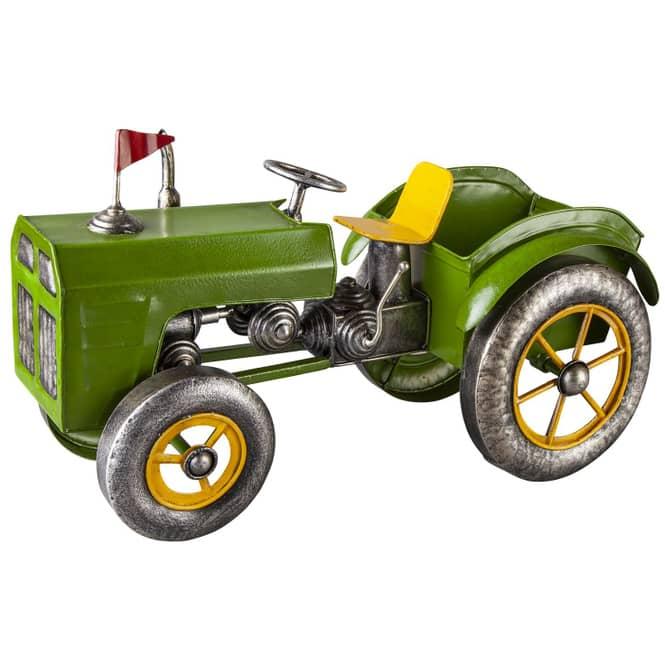 Pflanzgefäß - Traktor - 45,5 x 21,5 x 26 cm