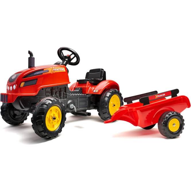 Falk - X-Tractor mit Anhänger - ca. 138 cm