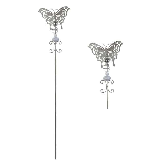 Pflanzenstecker - Schmetterling - ca. 99 x 18,5 cm