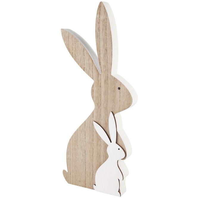 Dekohasen - aus Holz - 16 x 39 cm