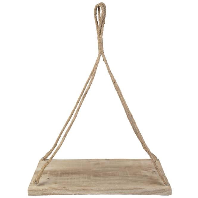 Hängetablett - aus Holz - 50 x 23,5 x 69 cm
