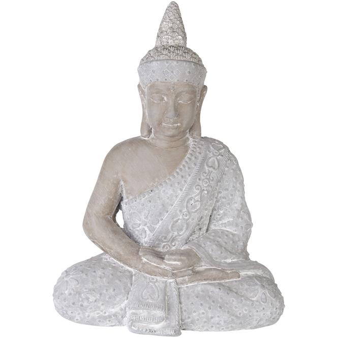 Buddha - aus Magnesia - 29 x 28 x 46 cm
