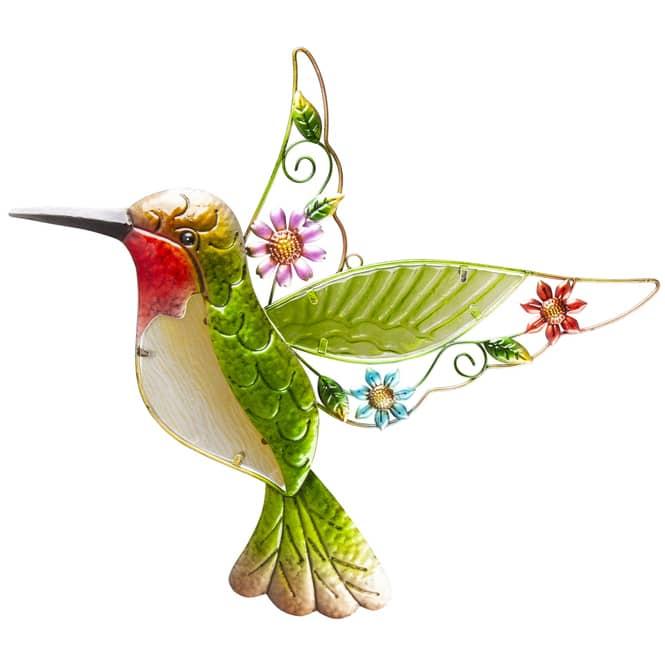 Wanddeko - Kolibri - 44 x 2 x 43,5