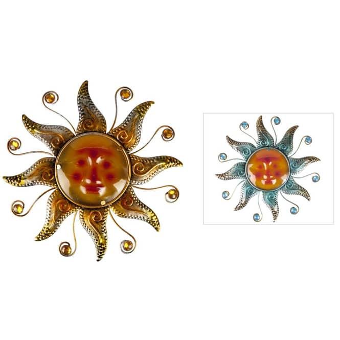 Wanddeko - Sonne - Ø = ca. 38,5 cm - 1 Stück