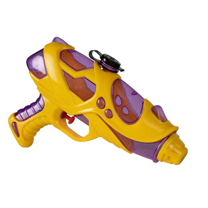 Besttoy - Wasserpistole - gelb/transparent - 1 Stück