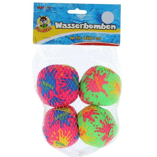 Besttoy - Wasserbombenbälle - 4er Set - 7 cm