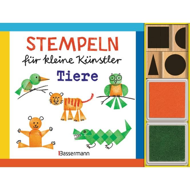 Stempeln für kleine Künstler - Tiere