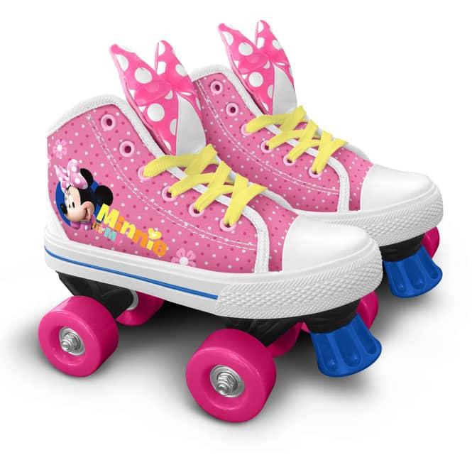 Minnie Mouse - Rollschuhe - Größen 28, 29, 30