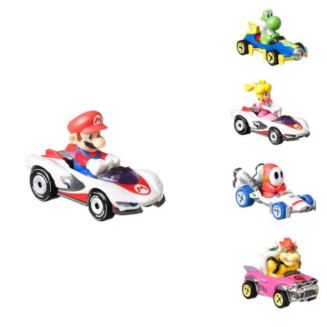 Hot Wheels - Fahrzeug Sortiment - Mario Kart - 1 Stück