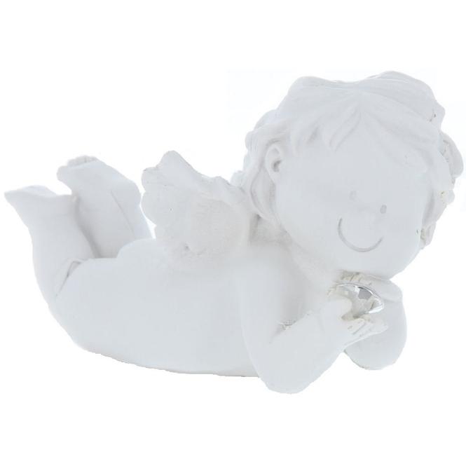 Putte - aus Polyresin - 12,5 x 6,5 x 7,5 cm - 1 Stück