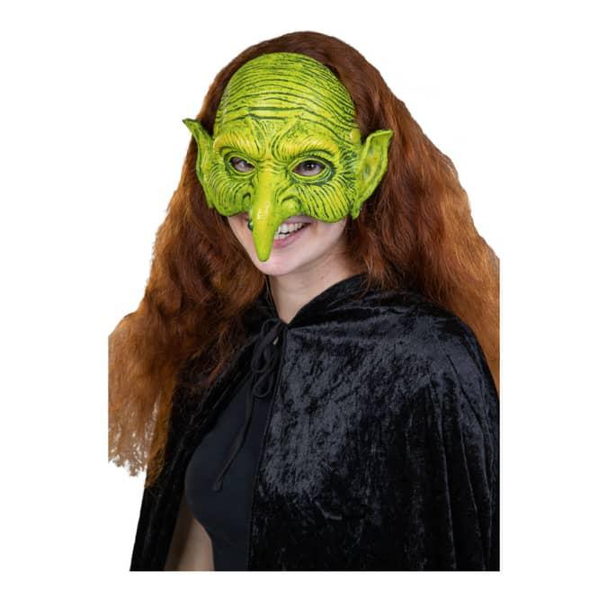 Halloweenmaske - Hexe - für Erwachsene