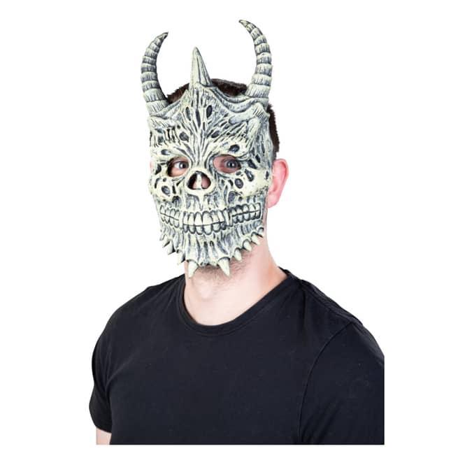 Halloweenmaske - Dämon - für Erwachsene