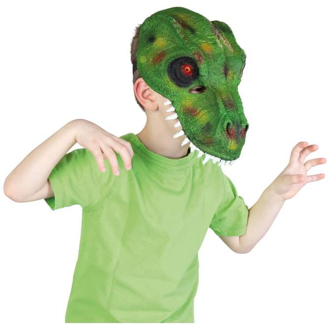Faschingsmaske - Dinosaurier - für Kinder