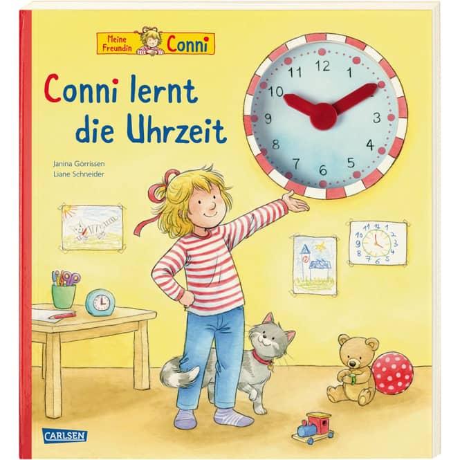 Conni-Bilderbücher - Conni lernt die Uhrzeit -Pappenbuch