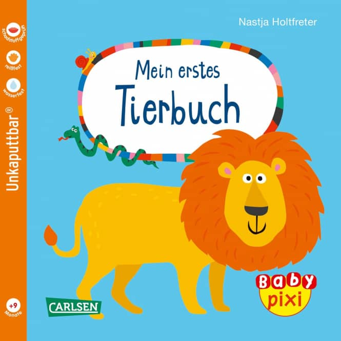 Baby Pixi 64 - Mein erstes Tierbuch - Softcover
