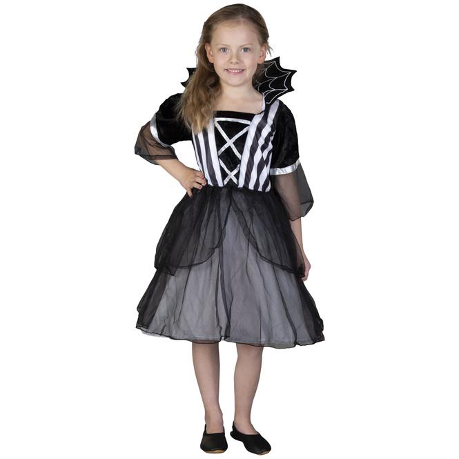 Kostüm - Spinnenmädchen - für Kinder - Größe 110/116