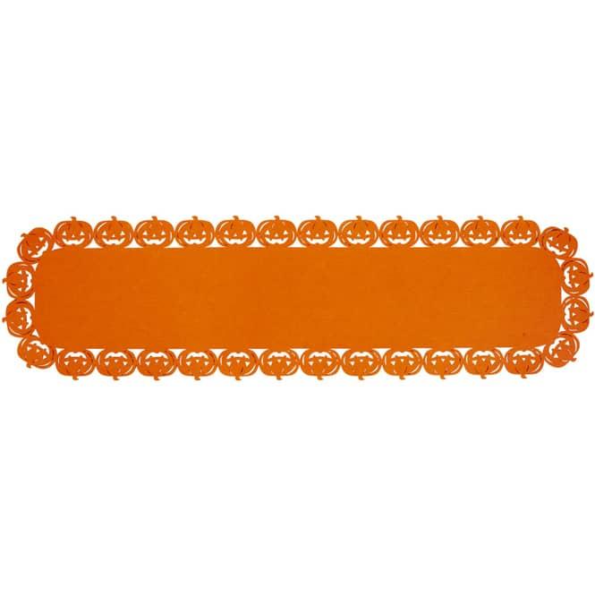 Tischläufer - Kürbisse - aus Filz - 109 x 30 cm