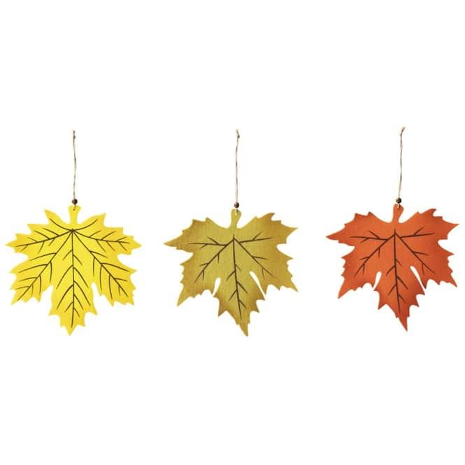 Dekohänger - Blätter - aus Filz - Ø = 29 cm - 1 Stück