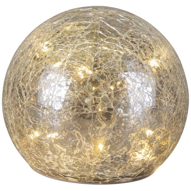 LED-Kugel - aus Glas - Ø = 11,5 cm
