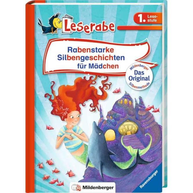 Leserabe - Rabenstarke Silbengeschichten für Mädchen - 1. Lesestufe