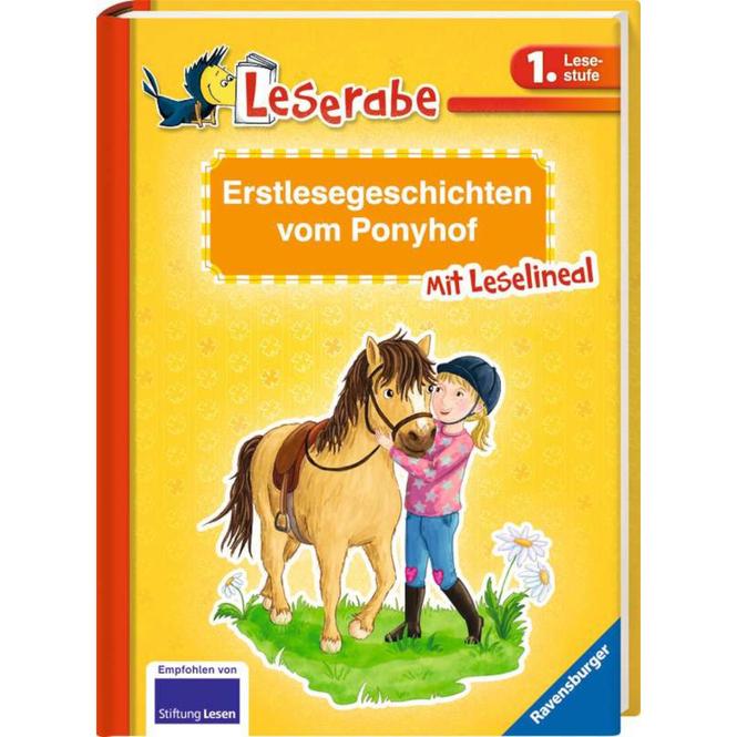 Leserabe - Erstlesegeschichten vom Ponyhof - 1. Lesestufe