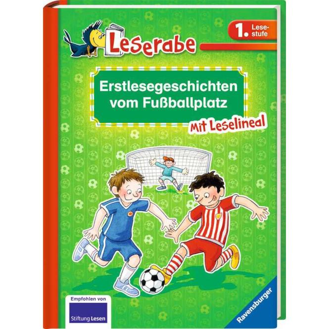 Leserabe - Erstlesegeschichten vom Fußballplatz - 1. Lesestufe