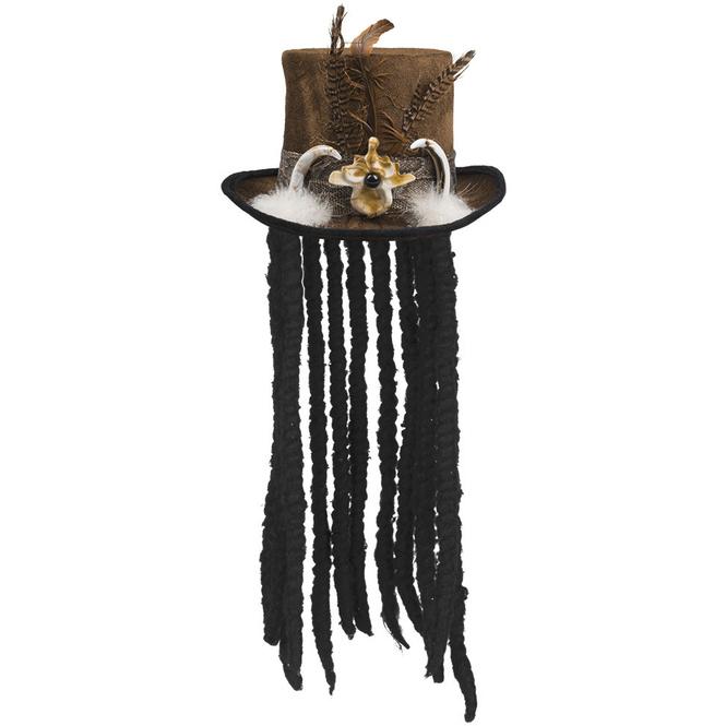 Faschingshut - Voodoo - für Erwachsene