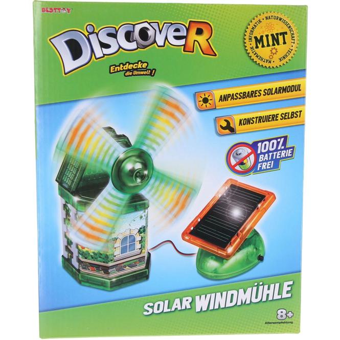 Besttoy Discover - Experimentierbaukasten - Solar Windmühle