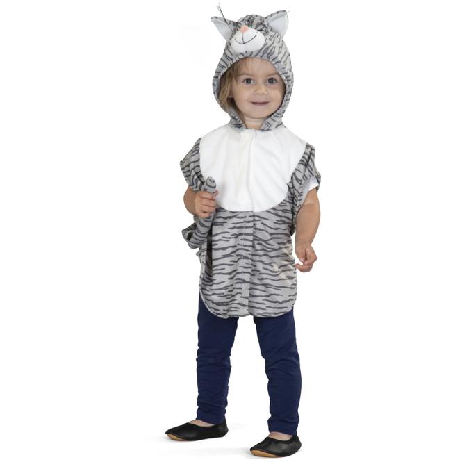 Kostüm - Plüschkatze - für Kinder