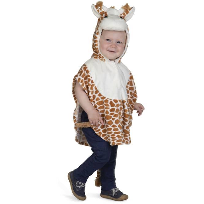 Kostüm - Plüschgiraffe - für Kinder