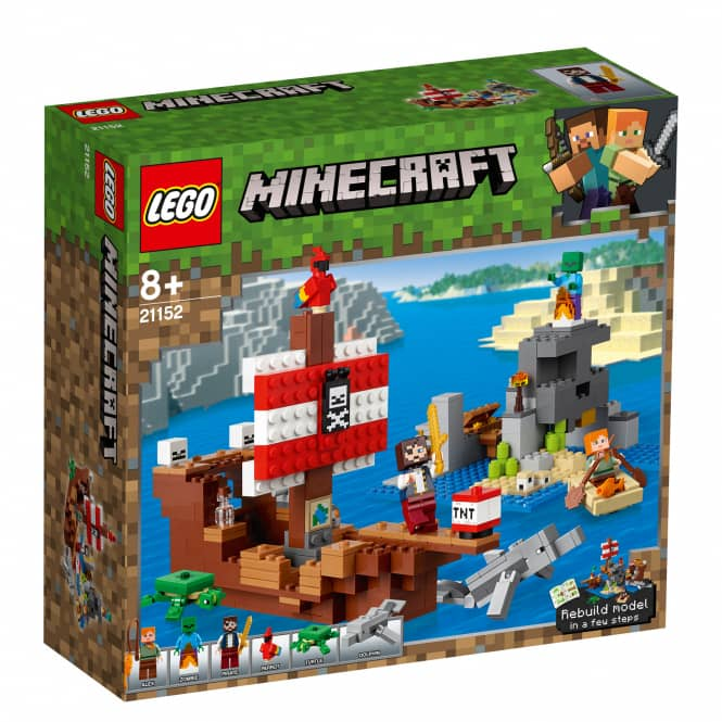 LEGO® Minecraft™ 21152 - Das Piratenschiff-Abenteuer