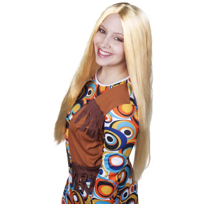 Langhaarperücke für Erwachsene - Blond
