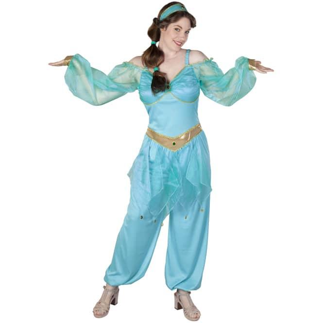 Kostüm - Wüstenprinzessin - für Erwachsene - verschiedene Größen