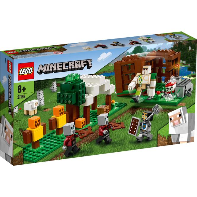 LEGO® Minecraft ™ 21159 - Der Plünderer-Außenposten