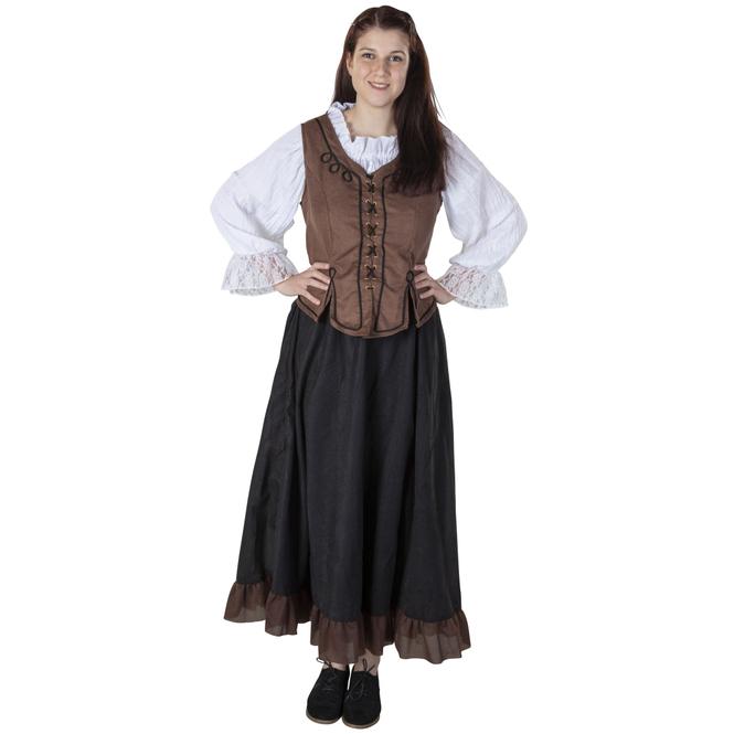 Kostüm - Cowgirl - für Erwachsene - 2-teilig - Größe 48/50