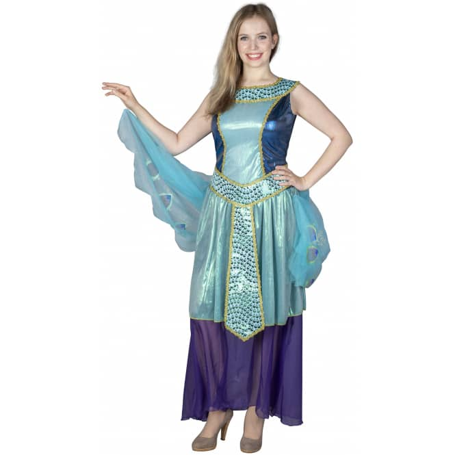 Kostüm - Pfau - für Erwachsene - 3-teilig - verschiedene Größen