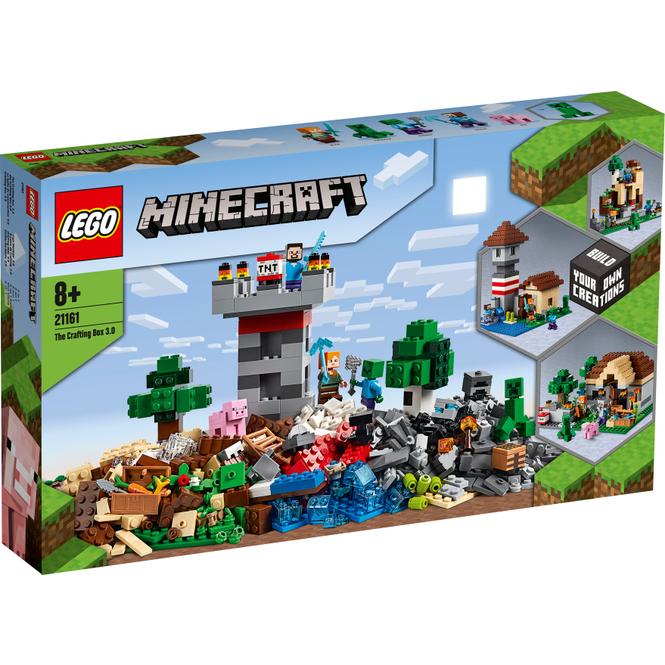 LEGO® Minecraft™ 21161 - Die Crafting-Box 3.0