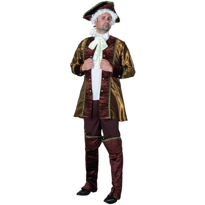 Kostüm - Barockbaron - für Erwachsene - 5-teilig - verschiedene Größen