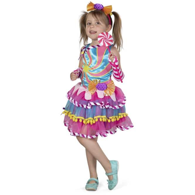 Kostüm - Candy Girl - für Kinder - 4-teilig - verschiedene Größen