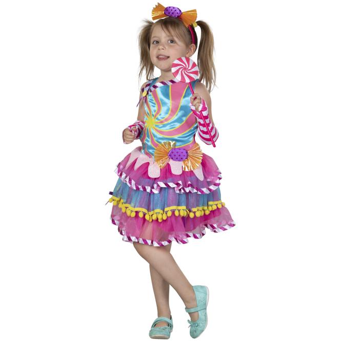 Kostüm - Candy Girl - für Teenager - 4-teilig