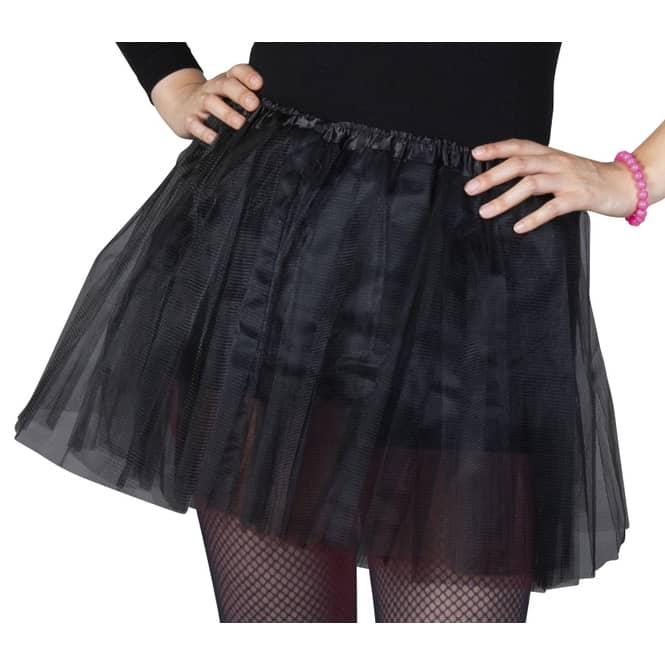 Petticoat - für Erwachsene - schwarz