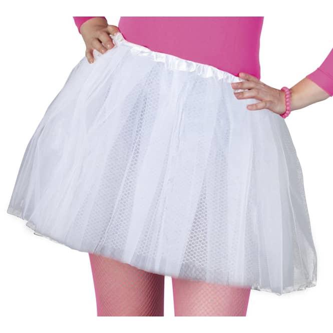 Petticoat - für Erwachsene - weiß